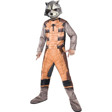 Boys Rocket Raccoon Costume