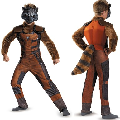 Boys Rocket Raccoon Deluxe Costume