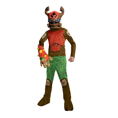 Boys Skylanders Tree Rex Costume