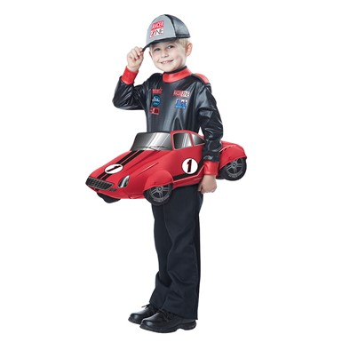 Boys Speedway Champion Costume size M/L 3T-6T