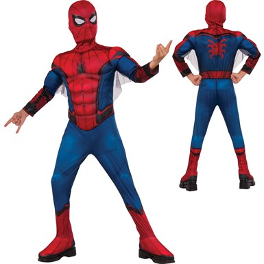 Boys Spider-Man Homecoming Costume – Muscle Chest