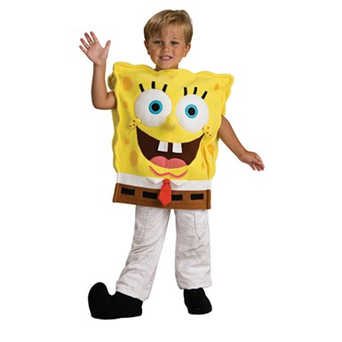Boys Spongebob Costume - Deluxe