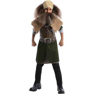 Boys The Hobbit Deluxe Dwalin Halloween Costume