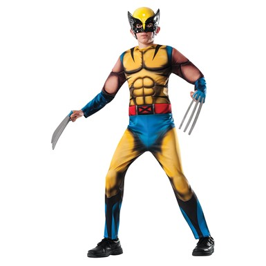 Boys The Wolverine Deluxe Jumpsuit Costume