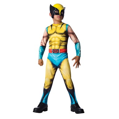 Boys The Wolverine Jumpsuit Costume