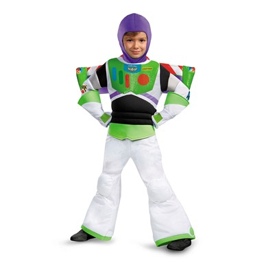 Boys Toy Story Buzz Lightyear Prestige Halloween Costume