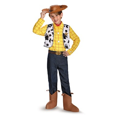 Boys Toy Story Woody Prestige Costume