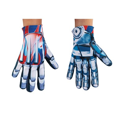 Boys Transformers Optimus Prime Costume Gloves