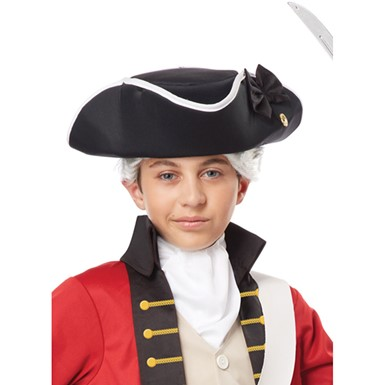 Boys Tricorn Halloween Hat