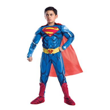 Boys Ultimate Superman Premium Armored Costume