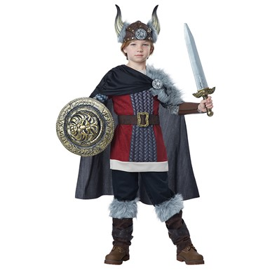 Boys Venturous Viking Halloween Costume