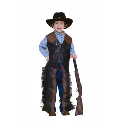 Boys Western Costume - Dress-Up Cowboy