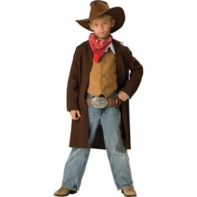 Boys Western Outlaw Cowboy Halloween Costume