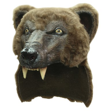 Brown Bear Helmet Accessory