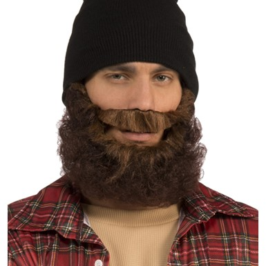 Brown Lumberjack Beard