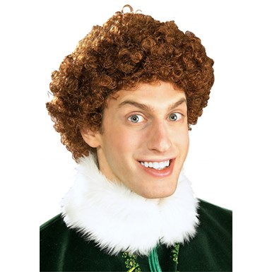 Buddy Elf Wig for Adult Halloween Costume