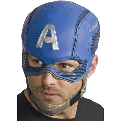 Captain America Vinyl Mask – Adult