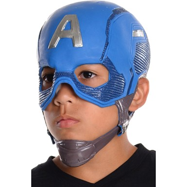 Captain America Vinyl Mask – Child