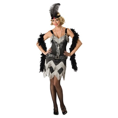 Charleston Cutie Womens Flapper Halloween Costume