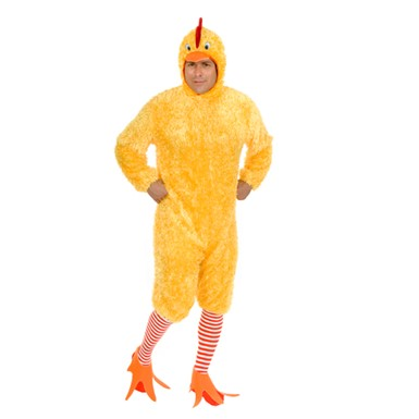 Chicken Suit Costume - Adult Funky Chicken