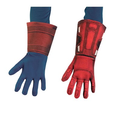 Child Captain America Deluxe Gloves