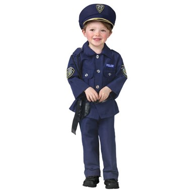 Child Cop Costume - Police Man