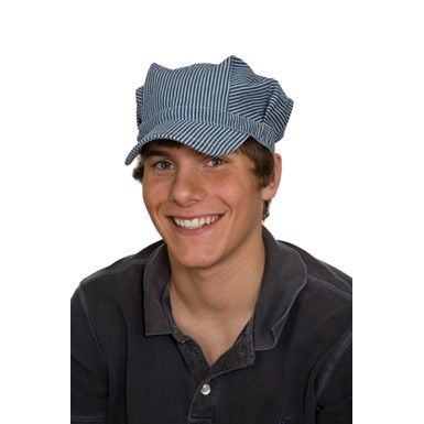 Child Cotton Train Engineer Hat