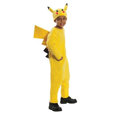 Child Deluxe Pikachu Pokemon Costume