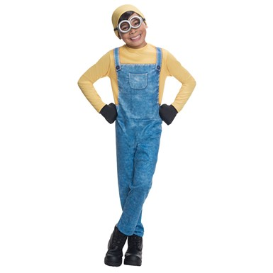 Child Despicable Me Minion Bob Halloween Costume