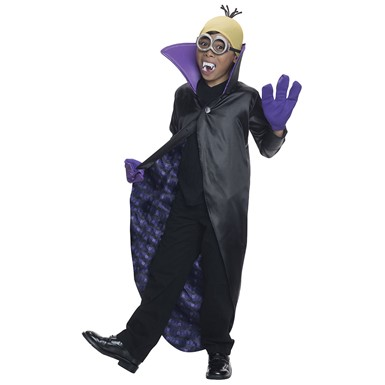 Child Despicable Me Minion Dracula Costume