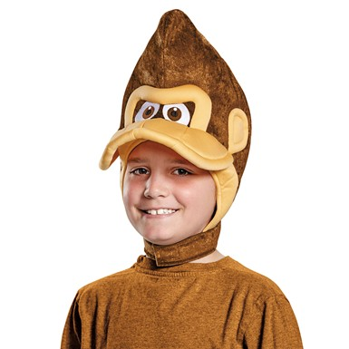 Child Donkey Kong Headpiece – Super Mario Bros.
