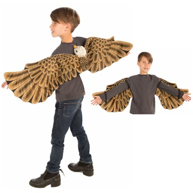 Child Eagle Plush Wing Set Halloween Costume Accessory