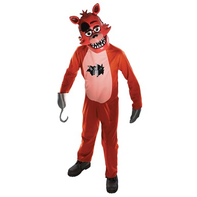 Child Foxy the Pirate Fox Costume – Five Night's at Freddy's