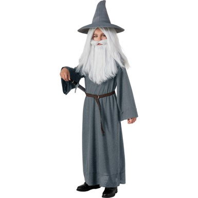 Child Gandalf Halloween Lord of the Rings Costume