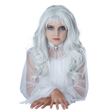 Child Ghost Halloween Wig