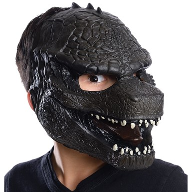 Child Godzilla 3/4 Vinyl Halloween Mask
