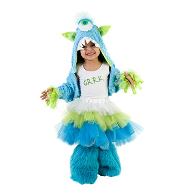 Child Grrr MonStar Costume