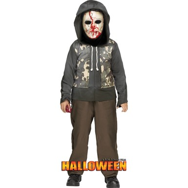 Child Halloween Bleeding Michael Myers Costume