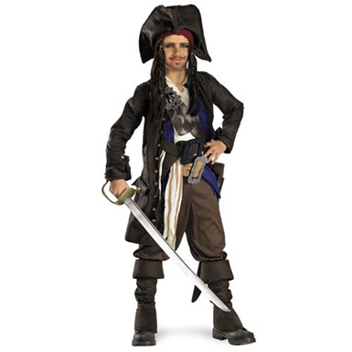 Child Jack Sparrow Premium Costume