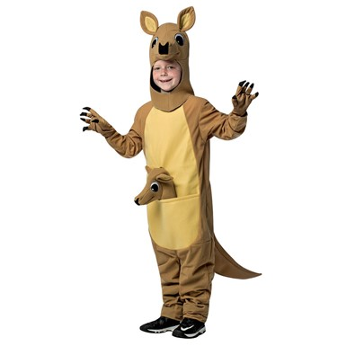 Child Kangaroo Halloween Costume