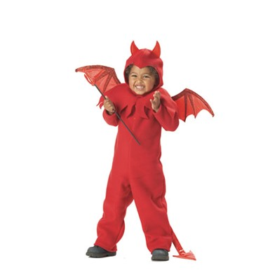 Child Lil' Spitfire Devil Toddler Costume