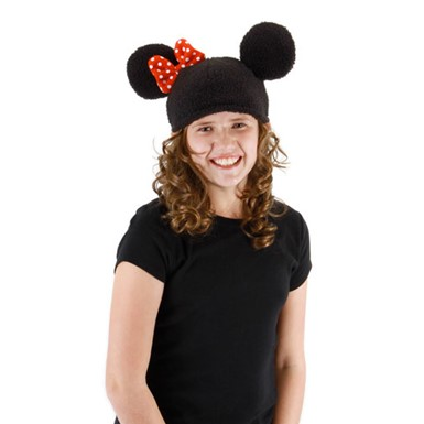 Child Minnie Knit Hat