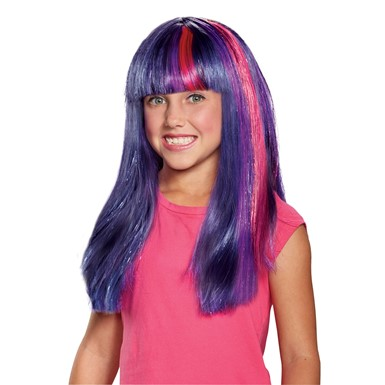 Child My Little Pony Movie Twilight Sparkle Wig