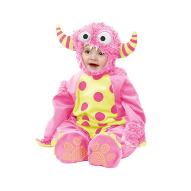 Child Pink Mini Monster Costume