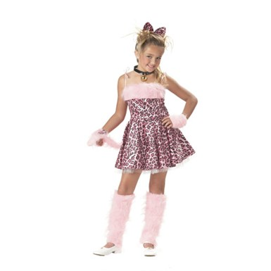 Child Purrty Kitty Costume for Halloween