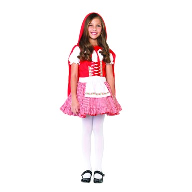 Child Red Riding Hood Costume - Lil Miss Red