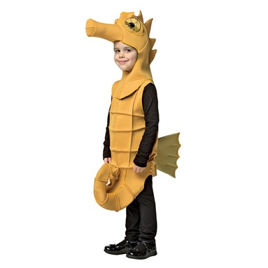 Child Seahorse Mascot Halloween Costume