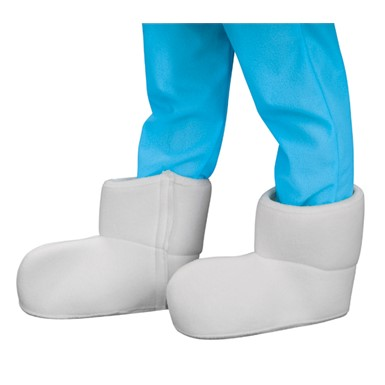 Child Smurf Halloween White Shoe Covers