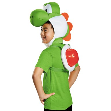 Child Super Mario Yoshi Halloween Kit