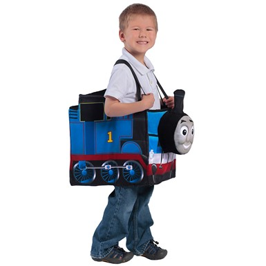 Child Thomas the Tank Ride-In Engine Costume 2T-4T